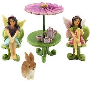 Fairy-Garden-Accessories-Miniature-Fairies-amp-Furniture-Ornaments-Pretmanns
