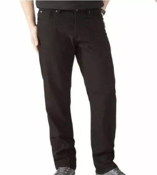 B107Wilson Men's Premium Straight Fit Washed Denim Jeans New 2018  RRP
