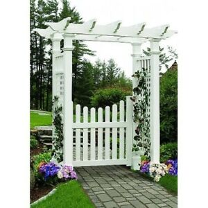 Image Is Loading New England Arbors Decorative FAIRFIELD DELUXE Garden Patio