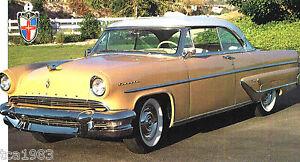 1952-1953-1954-Lincoln-CAPRI-SPEC-SHEET-Brochure-Flyer