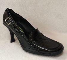 Materia Prima Goffredo Fantini US 8 (38.5) - Black Patent Oxford Style Heels