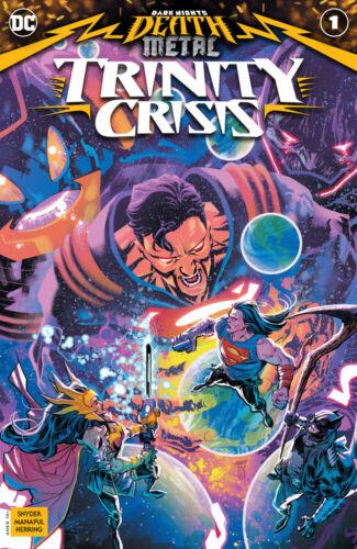 Presale 09//08 DC Comics DARK NIGHTS DEATH METAL TRINITY CRISIS #1 NM