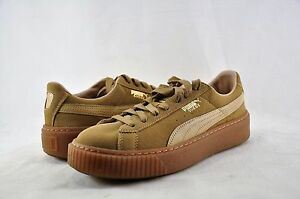 Details about Women s Shoes Puma Suede Platform Core 36355903 Oatmeal Size  11  New  4da617c55