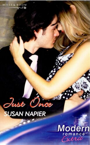 1 of 1 - Just Once by Susan Napier (Paperback, 2007)