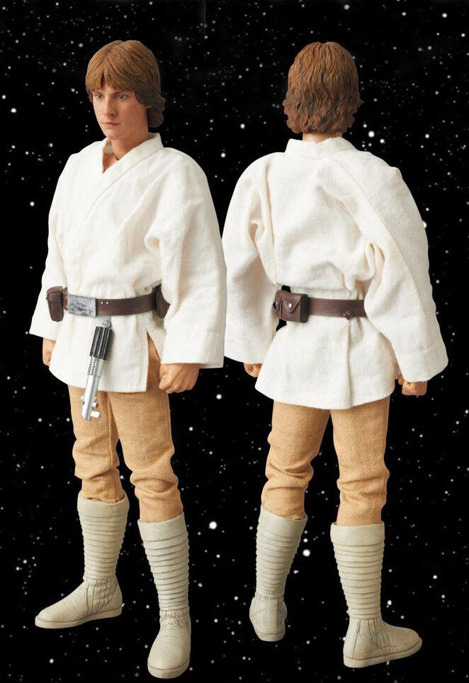 MEDICOM X ENTERBAY Star Wars A New Hope ver. LUKE Skywalker 1 6 Figure
