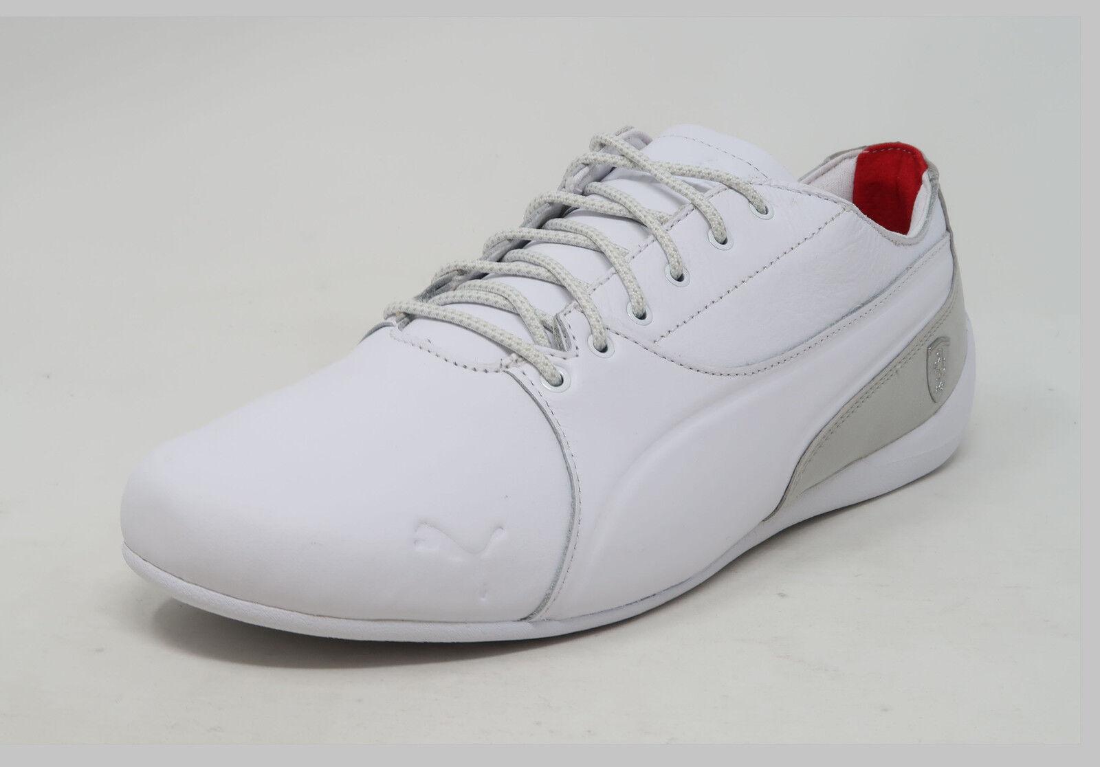 Cougar Moving CAT 7 ls Ferrari blanco gris cuero amarre calzado de moda