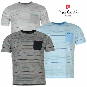 "Tee Shirt Homme /""PIERRE CARDIN/"" Col Rond broderie poitrine Polo NEUF"