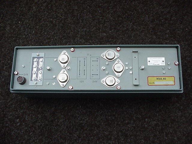Gleichspannungswandler SEG 15d geprüft , RFT / Funkwerk-Köpenick
