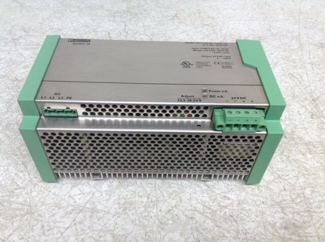 Phoenix Contact 2939467 24 VDC 20 Amp Power Supply QUINT PS-3X400AC/24DC/20