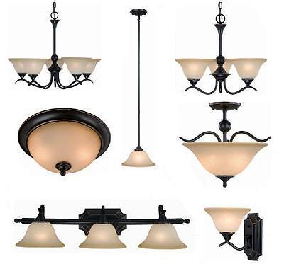 Oil Rubbed Bronze Bathroom Vanity Ceiling Lights Chandelier Lighting Fixtures Ebay