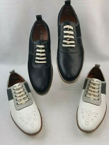 Ferro-Aldo-Shoes-Men-039-s-Lace-Up-Round-Toe-Perforated-Oxford-Dress-Shoes-MFA-19508