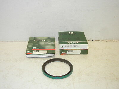LOT OF 2 CHICAGO RAWHIDE CR 24863 NEW OIL SEALS JOINT RADIAL CR24863