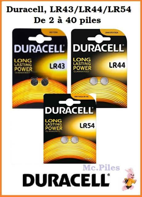 2 Piles Lr-54   Ag10 Duracell Bouton Alcaline 1 5v DLC 2019   eBay 3eb08b214e1f