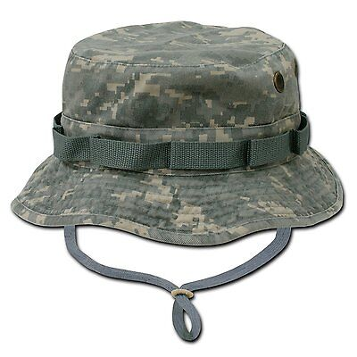 Universal Digital Camo Military Boonie Hunting Army Fishing Bucket Jungle Hat