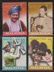 (236)MALAYSIA 1999 P. RAMLEE --ARTIST SUPREME OF MALAYSIA SET FRESH MNH