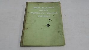 MAZDA-E2700-DIESEL-WORKSHOP-MANUAL-CHASSIS-BOOK-GENUINE