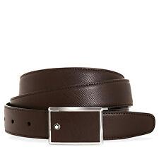 MontBlanc Contemporary Saffiano Leather Belt 114422