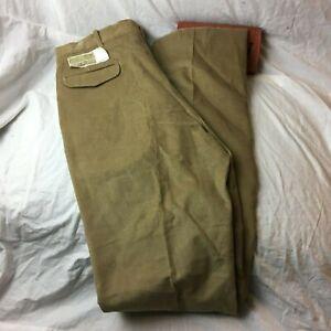Arnie Arnold Palmer Corduroy Flat Front Casual Dress Pants Slacks Mens Sz 36x40