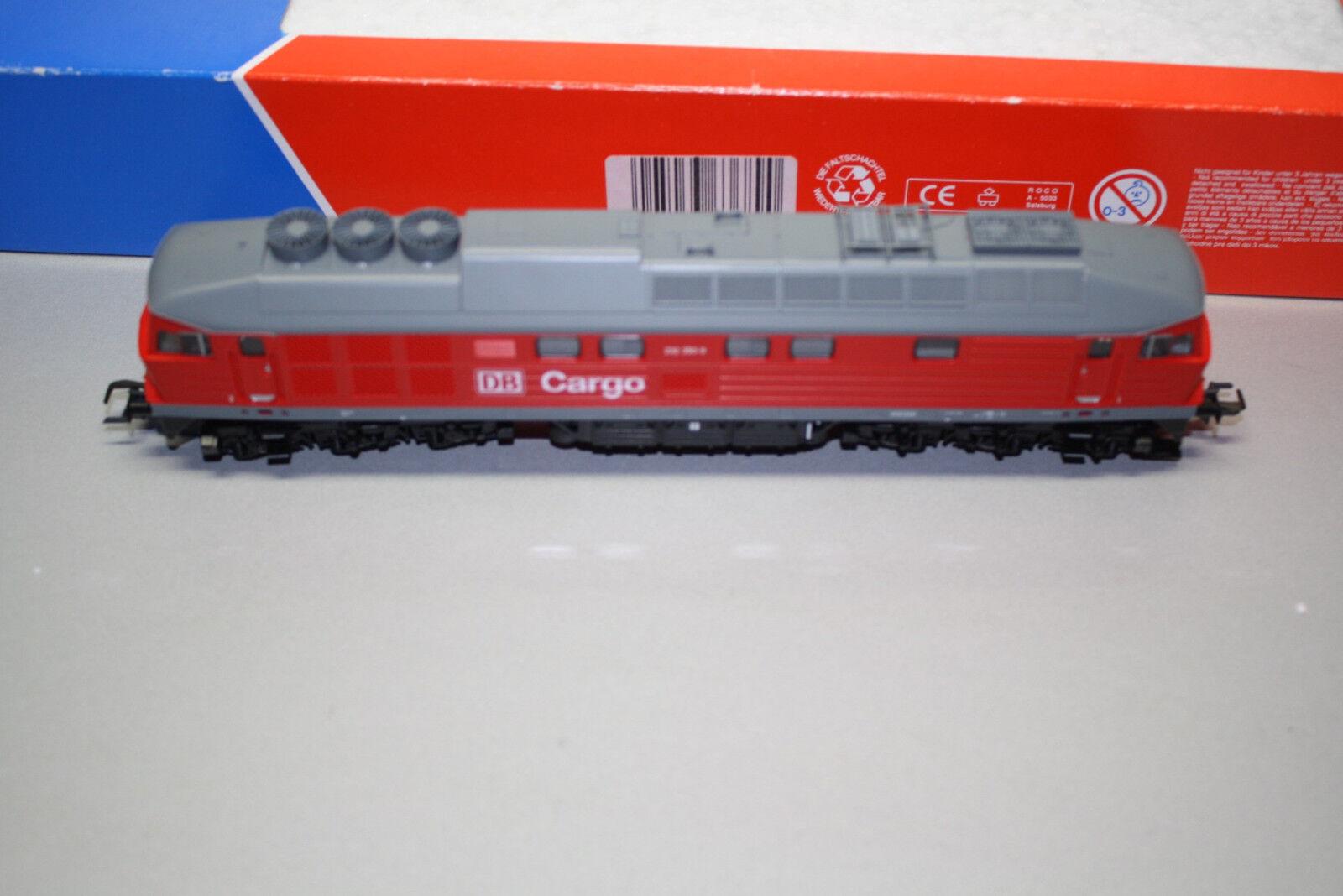 Roco 63689 DCC Digital Locomotora Diésel Serie 232 350-9 DB Cochego Escala H0 Ovp