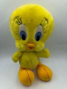 Looney-Tunes-Tweety-Bird-Warner-Bros-Studio-Store-Plush-Stuffed-Toy-Doll-1995