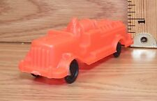 Vintage Genuine Wannatoy Plastic Red Fire Truck Toy Only -U.S.A.- **READ**