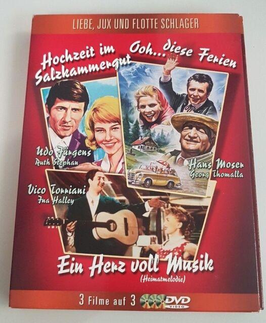 Liebe, Jux und flotte Schlager (3 DVDs) von Franz Antel, Robert A. Stemmle