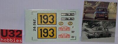 Orderly Dmc 24367 Calca Renault 8 Gordini Monte Carlo 1967 Andruet 1/24 Exquisite Craftsmanship; Kinderrennbahnen Spielzeug
