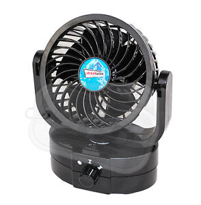 voiture 12v ventilateur caravane bateau oscillant fort. Black Bedroom Furniture Sets. Home Design Ideas