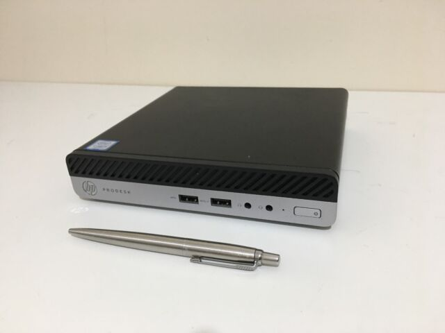 HP ProDesk 400 G3 mini PC, Intel i3-7100T 7th Gen, 8GB DDR4, 500GB HDD, WIN 10