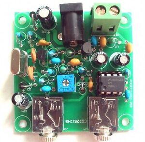 HAM Radio 40M CW Shortwave Transmitter Receiver 7.023-7.026MHz QRP Pixie DIY Kit