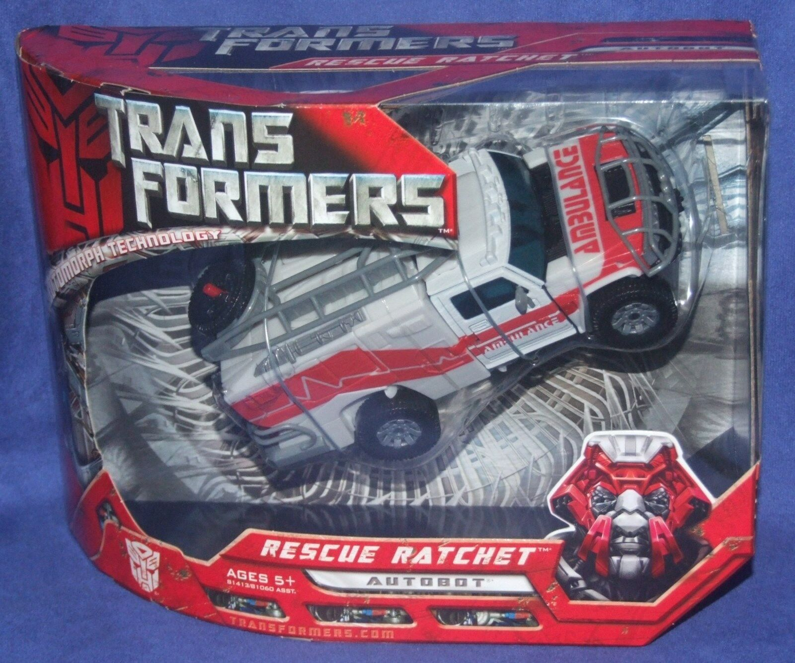 Transformers Movie 8  Voyager Class Autobot Rescue Ratchet New Factory Seal 2007