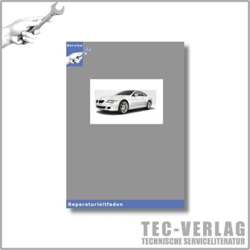 BMW 6er tipo e63 03-10 sistemi elettrici-officina manuale