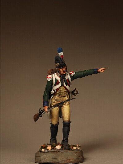 Chasseur från tyska Volunteers Legion 54mm 1 32 Resin Målad Toy SoldierKonst