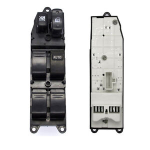 Master power window control switch for toyota 1998 2002 4 for 2002 toyota camry power window switch