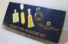 Gp100ml/149,50€)20ml 4er Set Collectors Miniature Set For Woman Aigner 4x 5ml