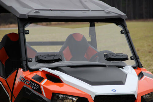 Seizmik Poly Full Vented Windshield Polaris General 25019
