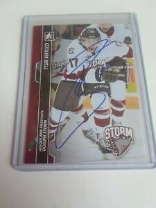 2013-14-ITG-Heroes-amp-Prospects-Tyler-Bertuzzi-Autograph-Signed-Rc-Rookie