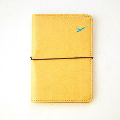 Newest Travel Leather Passport Holder Card Case Protector Cover Wallet Bags