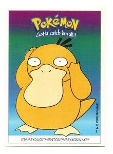 Pokémon Gotta catch'em all n° 54 - PSYDUCK - ENTON - PSYKOKWAK  (A4811)