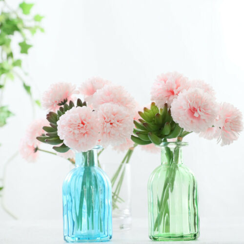 Artificial Silk Fake Flowers Peony Bridal Bouquet Home Decor Party Supplies
