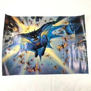 Vintage-Batman-DC-Comics-Cartoon-Drawn-Original-Rude-1989-Large-Poster