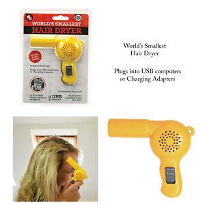 Funtime-Worlds-Smallest-Novelty-Desktop-Travel-Portable-Hair-Dryer-Gift-Gadget