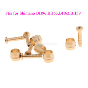 For Shimano BH90 Bike Hydraulic Disc Brake Hose Olive Insert Connector 10pair