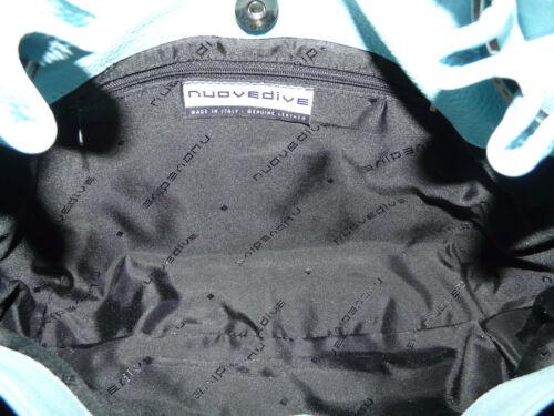 Sac bandouliᄄᄄre bleu Handbag Bnwt en Nouvedive clair Leather Slouch ᄄᄂ lTcFK1J3