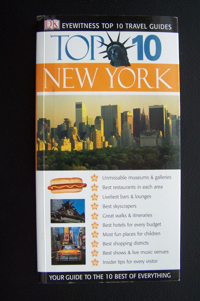 Top 10 Travel Guides: New York (Eyewitness Travel Top 1