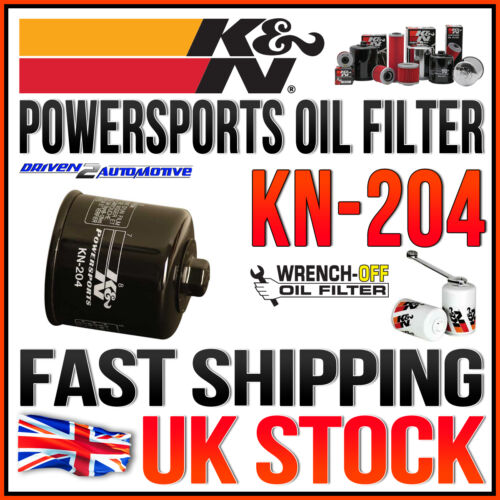K/&N KN-204 POWERSPORTS OIL FILTER 2007 YAMAHA FZ6 FAZER 600