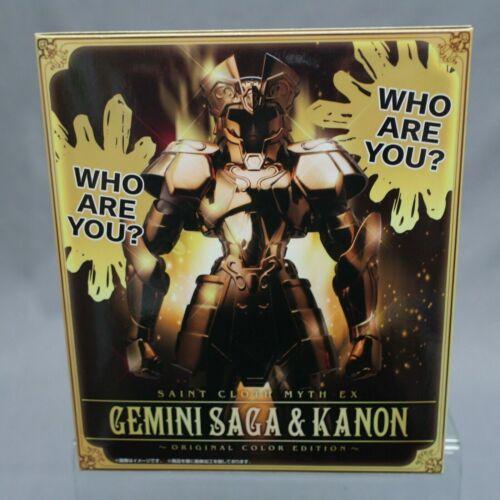 Saint Seiya Myth Cloth EX Gemini /& Kanon Original Color Edition Bandai Japan NEW