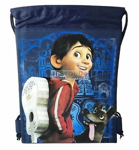 decde5be874 Image is loading COCO-Drawstring-Bag-Disney-COCO-Drawstring-Backpack-Sling-