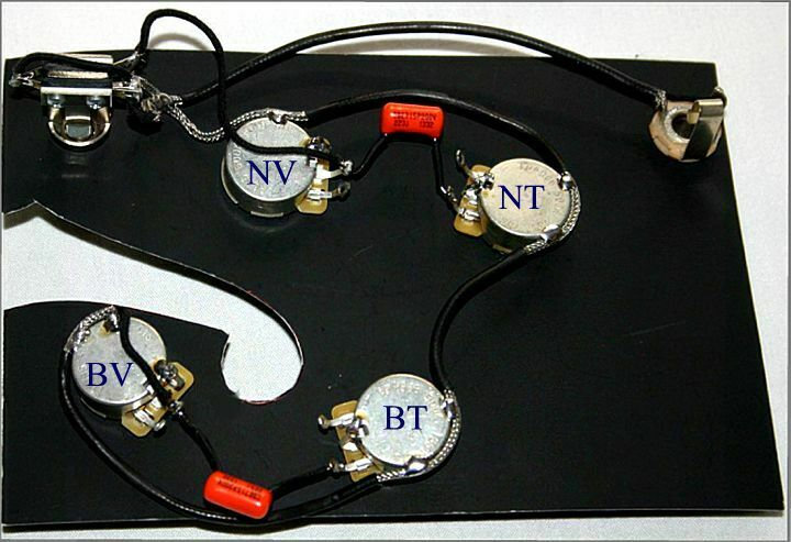 Upgraded 335 PRE-WIrot HARNESS for GIBSONS, EPI's with Bourns Pro-Audio Pots