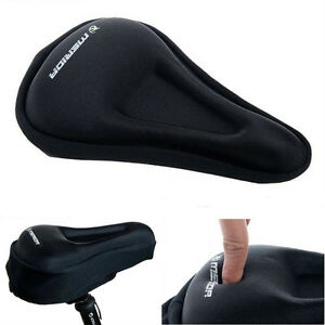 Cycling-Bike-Bicycle-Seat-Cover-Men-Silicone-Soft-Pad-Saddle-Silica-Gel-Cushion